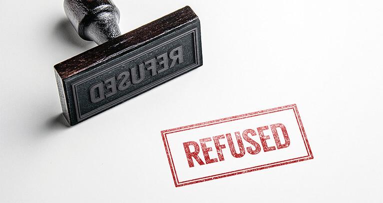 Prestito rifiutato motivi
