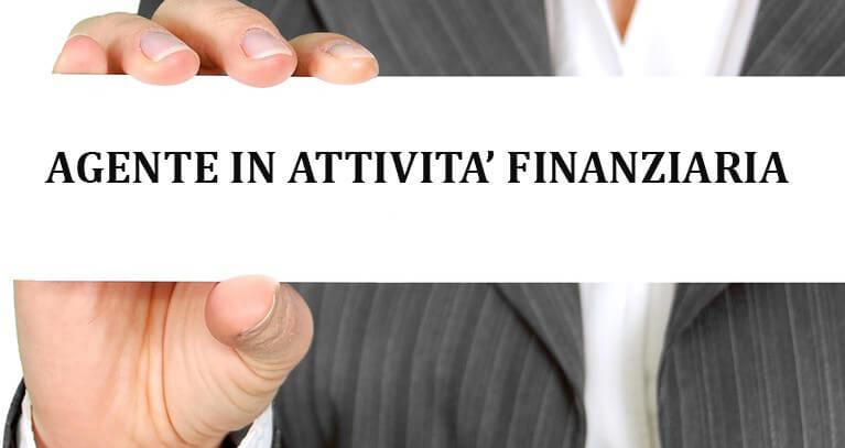 agente in attività finanziaria